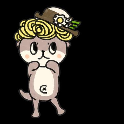 鍋焼きラーメンの帽子をかぶったキャラクターをまとめてみよう